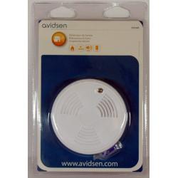 Rilevatore sensore di fumo antincendio ottico a batteria con sirena interna 85db