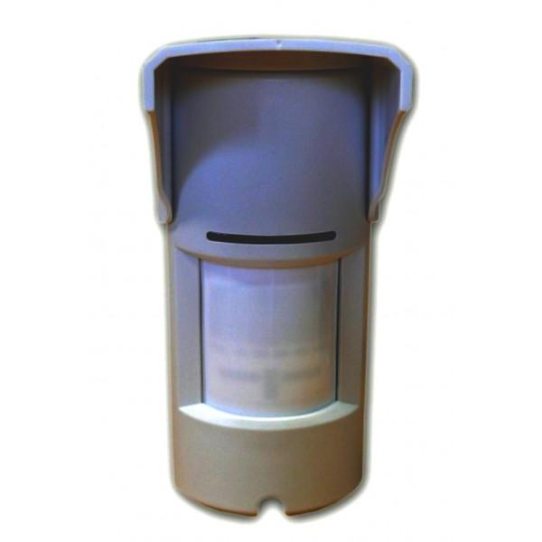 Sensore doppia tecnologia PIR MW esterno antifurto allarme filare snodo PET immune