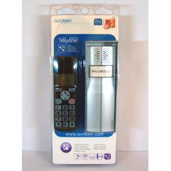 KIT Citofono wireless 200m chiamata su telefono cordless base ricarica Avidsen