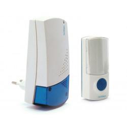 Campanello suoneria a presa senza fili wireless componibile Avidsen Klate