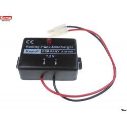 """Scaricatore automatico pacchi batteria 7,2V Racing Ni-Cd Ni-MH connettore TAM """"A"""""""