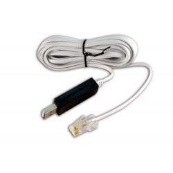 Cavetto USB RJ45 compatibile Windows 10 per MCEE USB e SOLAR