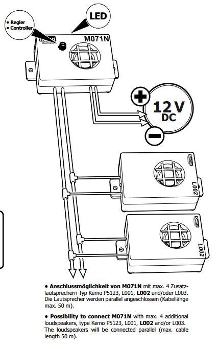 Trasduttore ad ultrasuoni aggiuntivo per repellente - Antizanzare ultrasuoni da esterno ...