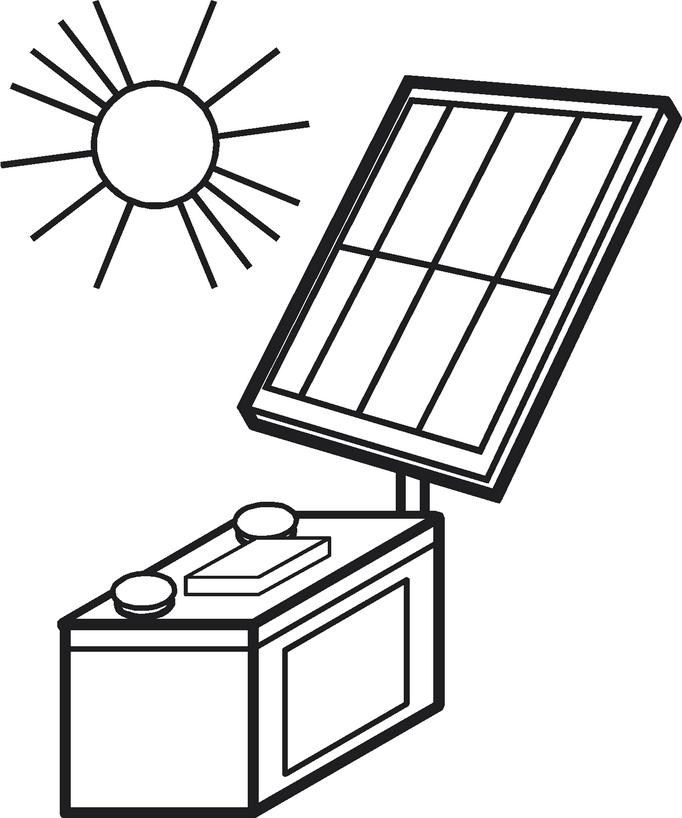 regolatore di carica solare batteria piombo pannelli