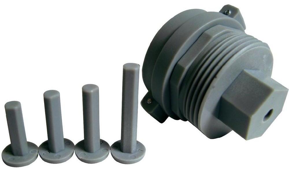 Adattatore universale valvole radiatori m28 x 1 5 mm per for Testina termostatica