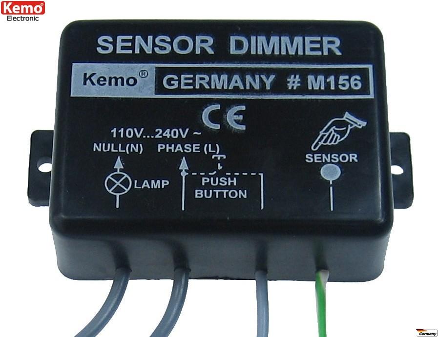 dimmer elettronico incasso intelligente pulsante sensore touch lampade motori 230v 1kw. Black Bedroom Furniture Sets. Home Design Ideas