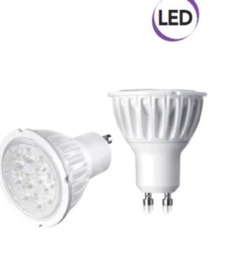 Lampadina spot led 7w gu10 500 lumen luce calda a for Lampadine al led luce calda