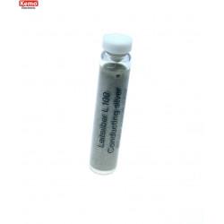 Argent conducteur pour la réparation de circuits imprimés en vitrocéramique