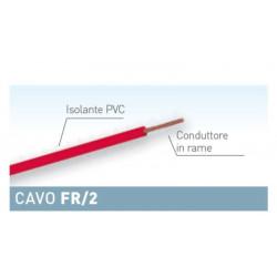 Matassa cavo per elettronica rosso da 25 m FR 1x0,14 mmq Electraline 19005