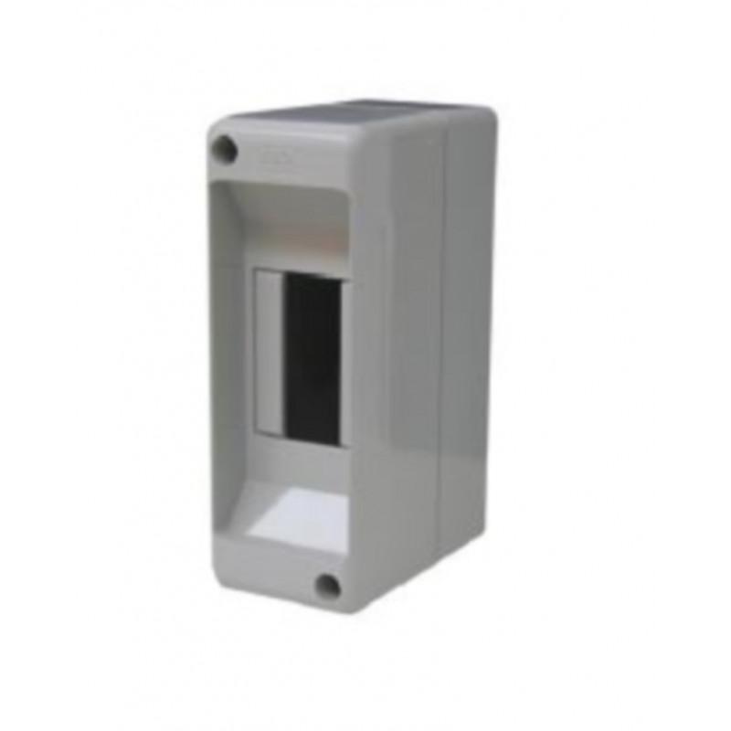 Centralino da parete senza sportello 130 x 45 x 85 mm grigio Electraline 60432