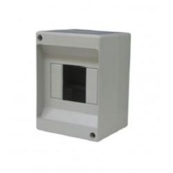 Centralino da parete senza sportello 130 x 90 x 85 mm  grigio Electraline 60433