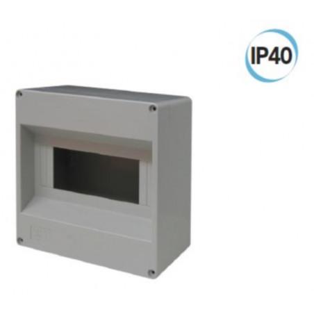 Centralino da parete senza sportello 170 x 170 x 90 mm  grigio Electraline 60434