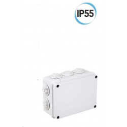 Caja de conexiones Wall 190 x 140 x 70 mm Electraline 60556 gris