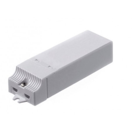 Trasformatore elettronico 150 W 240-12V di colore bianco Electraline 70721