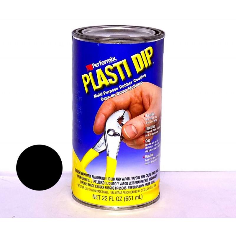 Gomma Liquida nera barattolo Plasti Dip® 650ml resistenza UV e atmosferici