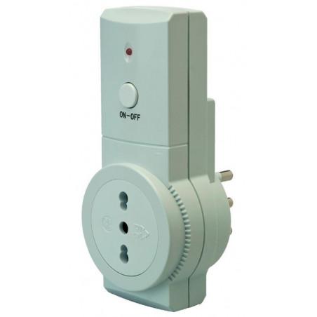 Presa telecomandata italiana 16A radiocomandata wireless Smart Start PSE100