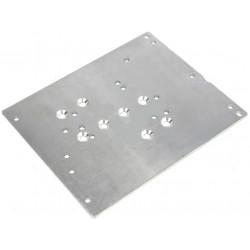 Supporto piastra metallo 130 x 104mm per alimentatori switching in case metallico