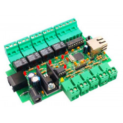 MONTATO Interfaccia controllo I/O Ethernet 4IN/4OUT FT823M espandibile