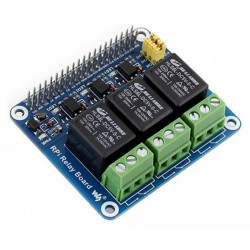 Modulo output 3 Relè per Raspberry PI 250V 3A RPi Relay Board