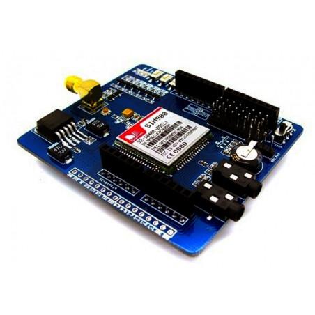 Shield Arduino GSM/GPRS con modulo SIM900 Voce, SMS, Dati, Fax