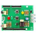 KIT Shield ArdIR con TX RX infrarossi telecomando universale per Arduino