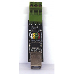 Convertidor USB RS485 autoalimentado con conmutación automática