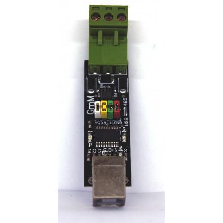 Convertisseur USB RS485 à alimentation automatique avec commutation automatique