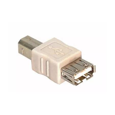 Adattatore USB da tipo A spina femmina a tipo B spina maschio