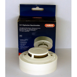Optical fire smoke detector for alarms
