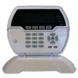Clavier d'affichage sans fil pour la commande à distance des unités d'alarme antivol Defender