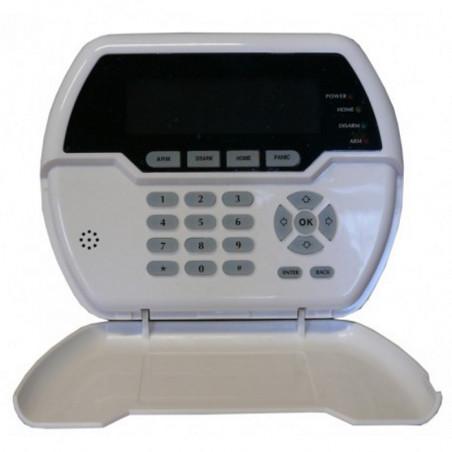 Tastierino display wireless per controllo remoto centrali antifurto Defender