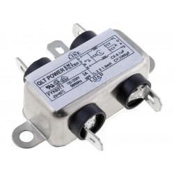 Filtro de red antiinterferencias EMI para dispositivos eléctricos electrónicos 250V 3A