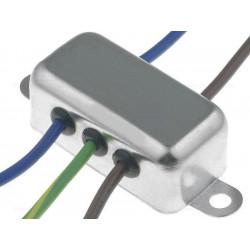 Filtro di rete antidisturbo EMI 250V 3A con terminali su cavo elettrico