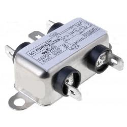 Filtro de red antiinterferencias EMI para dispositivos eléctricos electrónicos 250V 6A