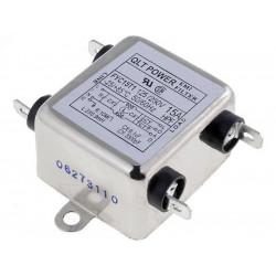 Filtro di rete antidisturbo EMI per dispositivi elettrici elettronici 250V 15A