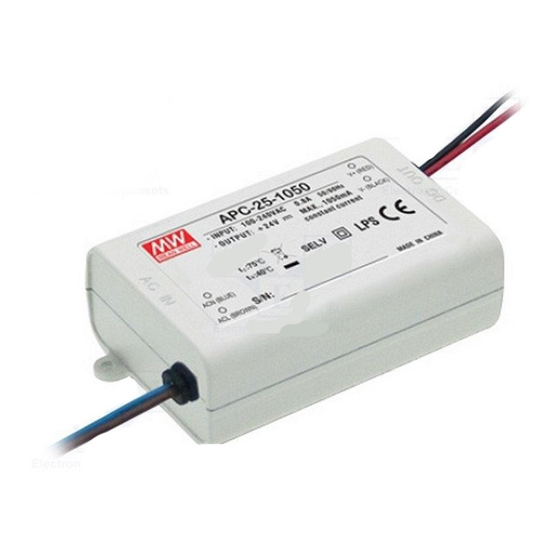 CONSTANT CURRENT POWER SUPPLY DC 350mA LED 24.5W