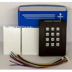 Cerradura electrónica del lector RFID con contraseña - admite hasta 2000 usuarios - 2 tarjetas RFID inalámbricas incluidas