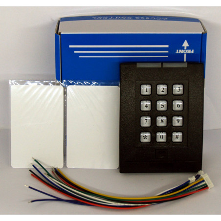 RFID reader electronic lock with password - supports up to 2000 users - 2 wireless RFID cards included