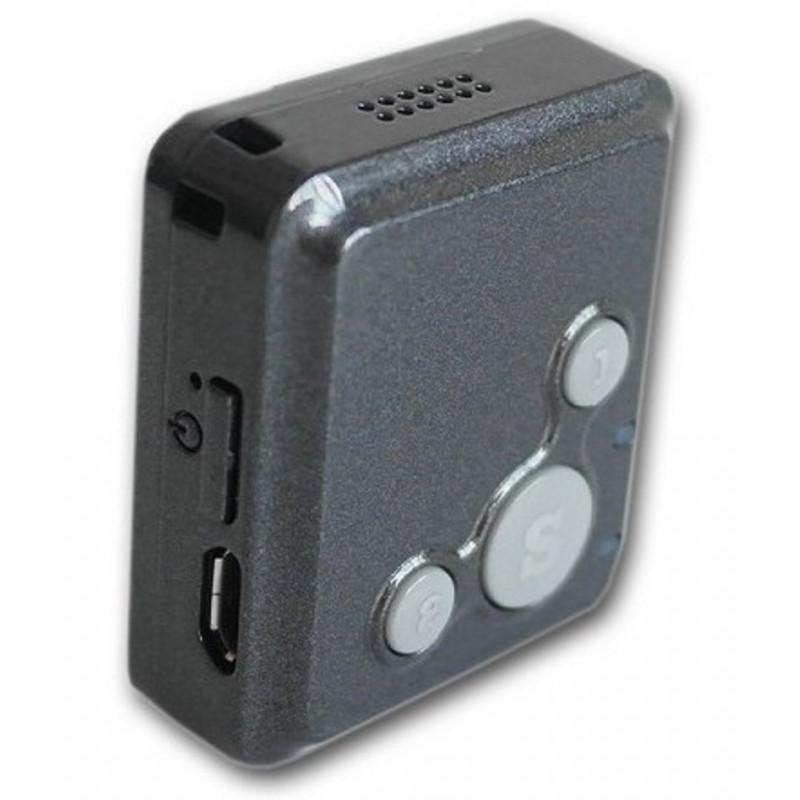 Personal tracker GPS localizzatore soccorso persone veicoli miniaturizzato audio
