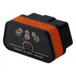 Interfaccia tester OBD II bluetooth diagnostica auto per PC, Tablet, Smartphone