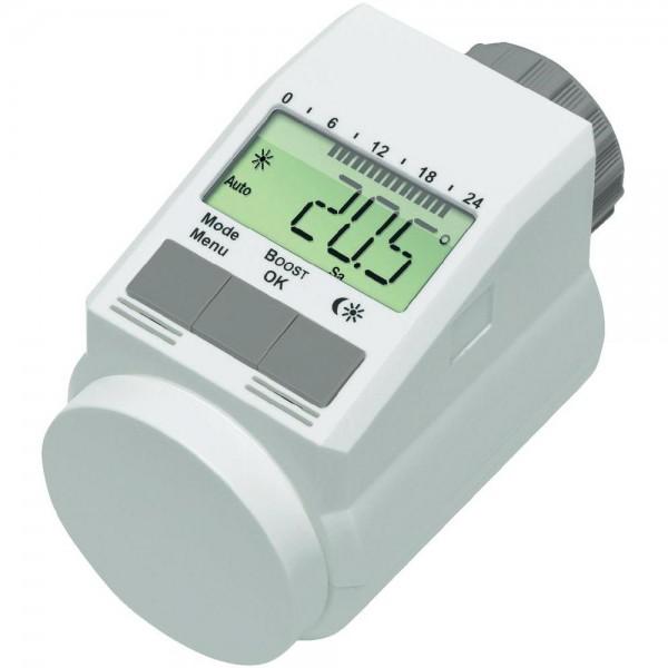 Testina termostatica l digitale crono termostato radiatore for Valvole termostatiche netatmo