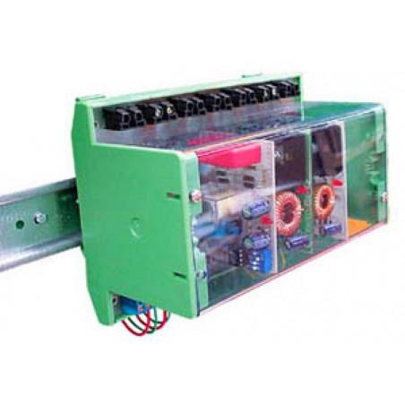 Contenitore plastico montaggio guida DIN KIT  K8006 K8056 VM118 VM129 VM201