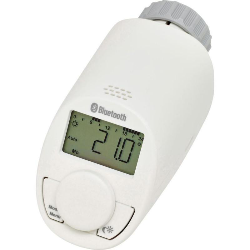 Testina termostatica radiatore digitale Bluetooth controllo APP smartphone crono