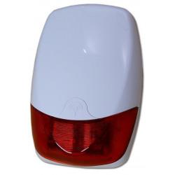 Sirena antifurto allarme universale antischiuma e strappo wireless filare con batteria