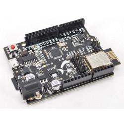 Fishino UNO board Arduino compatibile Atmega328 modulo WiFi RTC microSD