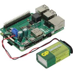 Shield per Raspberry PI alimentazione 6-61V DC funzione UPS automatica batteria