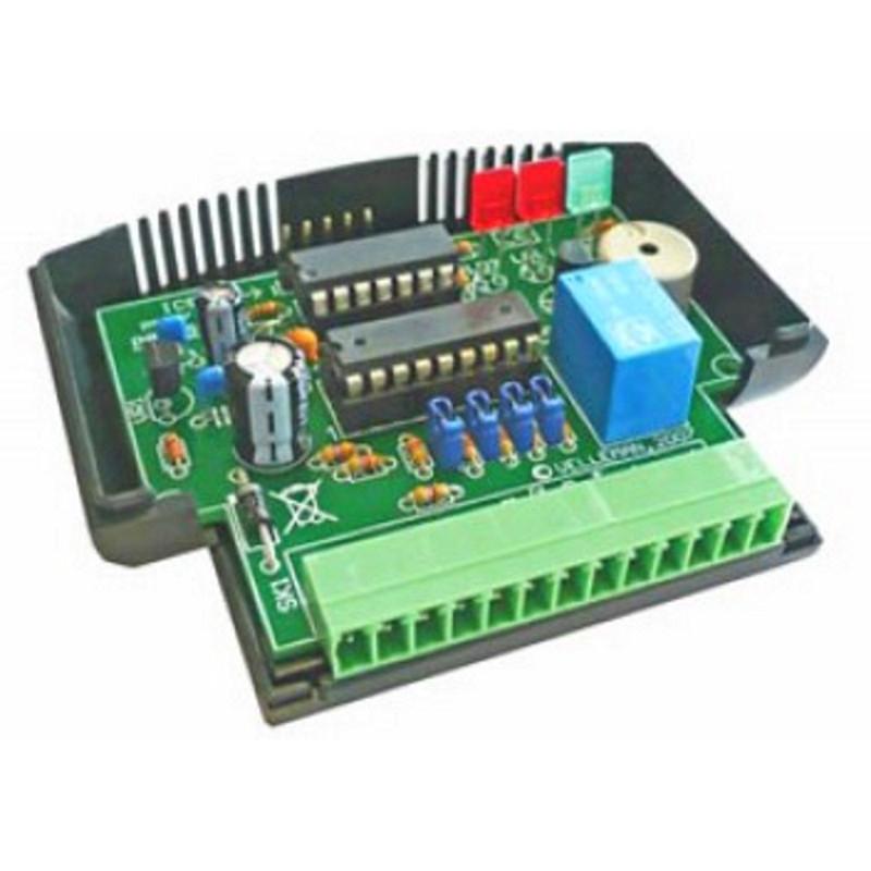 Modulo controllo PLC 12V DC microcontrollore PIC 16F630 4 INPUT 4 OUTPUT + relè