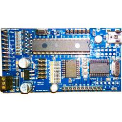 Scheda sviluppo V21 SMD PIC micro 28 pin 16F886 con 24 I/O comunicazione USB