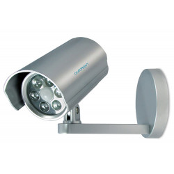 6 x LED battery-powered spotlight with motion detector, dusk and timer