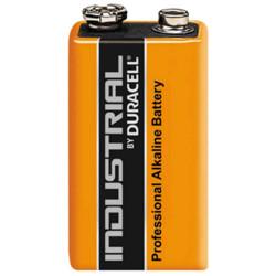 MN1604 Duracell Industrial Alkaline transistor battery size 9 Volt 6LR61